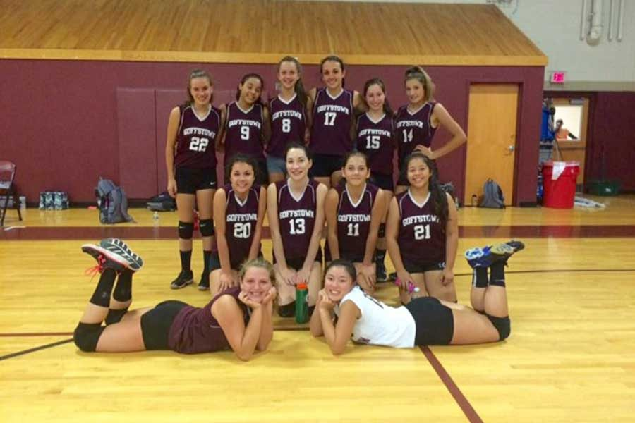 JVX+Girls+Volleyball+Team