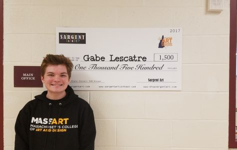 GHS Student Wins Big in Youth Art Month Show