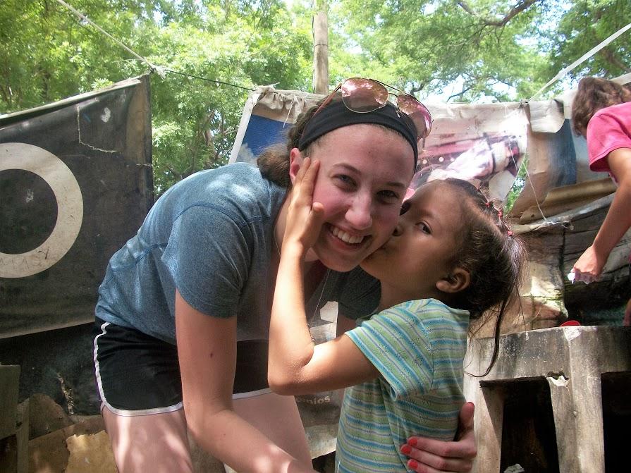 Abby volunteering in Nicaragua
