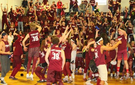 Juniors celebrate first Winter Carnival victory in over a decade.