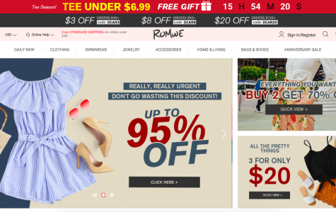 ROMWE Online Shopping Review