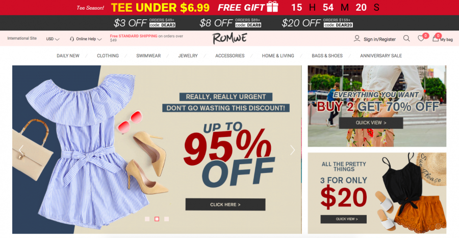 ROMWE+Online+Shopping+Review
