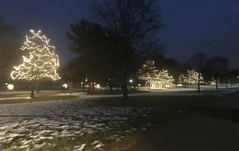 Christmas Lights in Goffstown,NH