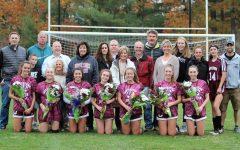 Emotional Girls Soccer Senior Night
