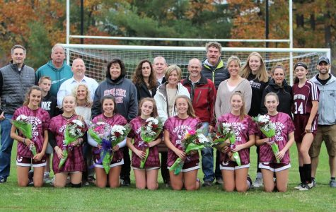 Emotional Girls Soccer Senior Night