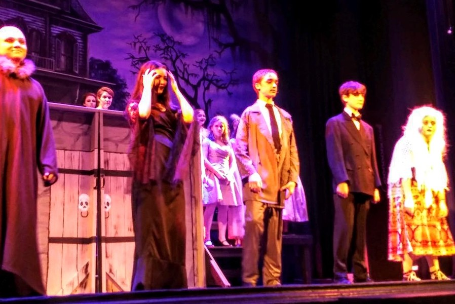 The+Addams+Family+Production