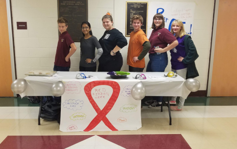 The Peer Outreach team behind Red Ribbon Week at GHS