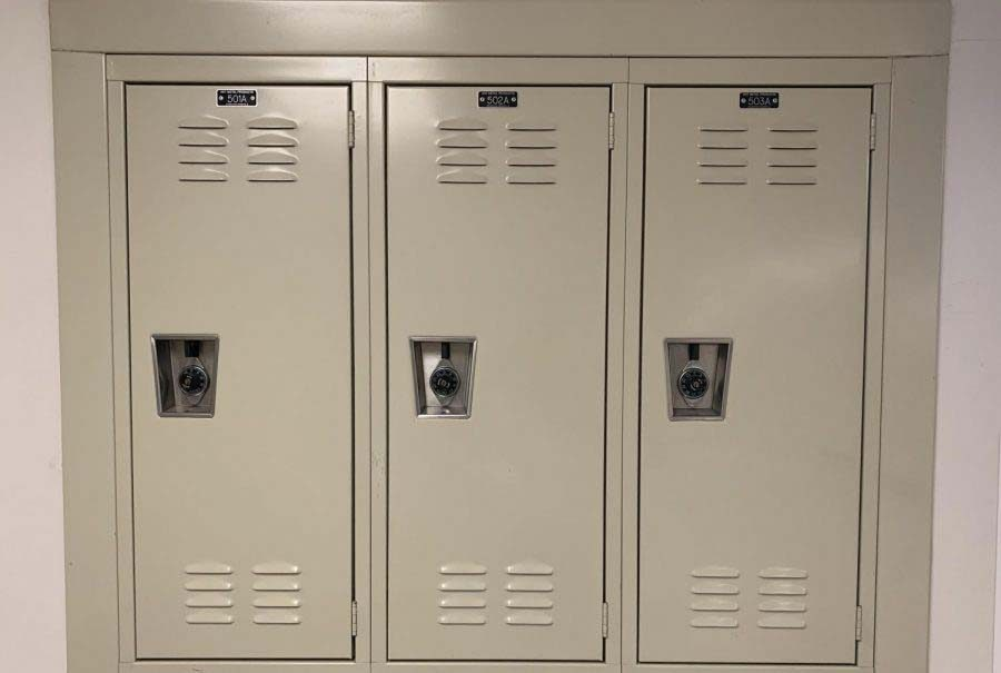 GHS+Removes+Lockers+Over+the+Summer