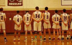 Boys Basketball Team on Silent Night