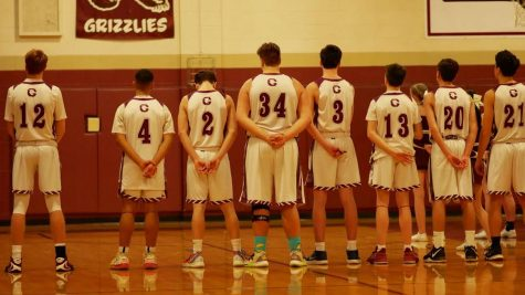 Boys Basketball Team on Silent Night