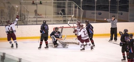 Goffstown Hockey Team Hits the Ice