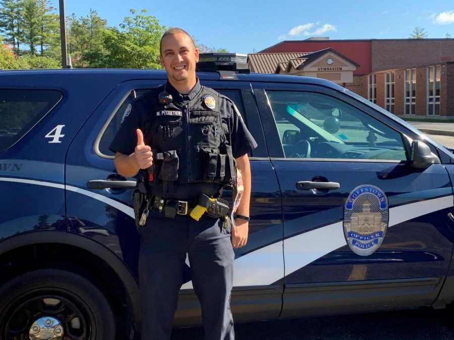 GHS Welcomes New Student Resource Officer