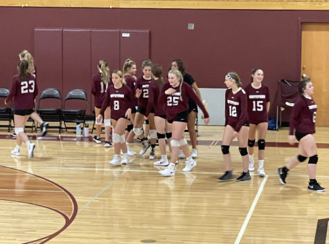 Reserved Girls Volleyball: Team Spirit