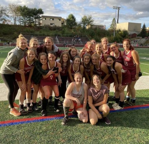 Victory Over Hanover at Field Hockey Quarter-Finals